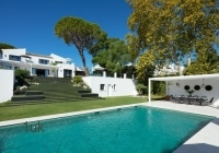 View of swimming pool at Nueva Andalucia Golf Valley Villa