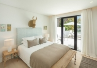 Master bedroom with amazing views at Family Residence