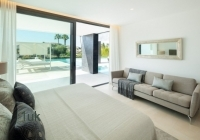Bedroom with amazing outside views in Prime Location Brand New Villa
