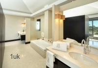 View of the main bathroom within the Marbella residence