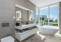 Master bedroom with amazing outside views
