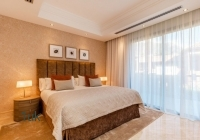 View of bedroom number three at luxury villa