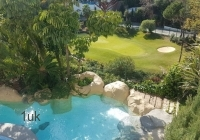 Swimming pool and Golf views