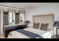 A look at the master bedroom
