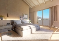 Double Bedroom with doors to open on to the terrace