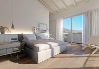 Second Double Bedroom with mountain views