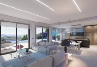High quality interior in open plan lounge